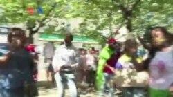 Manifestation des Gabonais en France