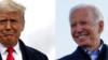 El presidente Donald Trump y el candidato demócrata a la presidencia Joe Biden visitaron, entre los dos, seis estados del Medio Oeste el viernes.