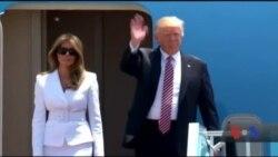 Трамп назвав цей час сприятливим для встановлення миру на Близькому Сході. Відео