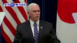 VOA60 America - Vice President Mike Pence assures that the U.S. will stand by South Korea