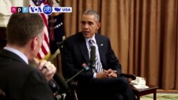 VOA60 America - Obama: 'Significant Progress' Against Islamic State by End of Term