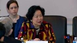 2014-04-04 美國之音視頻新聞: 香港泛民在華府要求中國兌現香港實行普選承諾