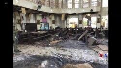 2019-01-27 美國之音視頻新聞: 菲律賓政府表示將追捕教堂連環爆炸襲擊者