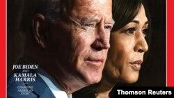 Joe Biden i Kamala Harris na naslovnici izdanja sa izborom ličnosti godine.