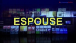 News Words: Espouse