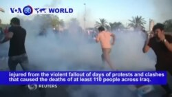 VOA60 World - Iraqi Leaders Seek Talks with Demonstrators to Diffuse Protests