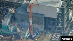 東京電力公司於11月18日發佈的福島核電站圖片。