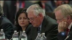 Тіллерсон прокоментував свою зустріч з Лавровим у Відні. Відео