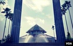 Masjid Kampus UGM. (Foto:VOA/ Nurhadi)