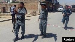 Ilustrativna fotografija - afganistanski policajci