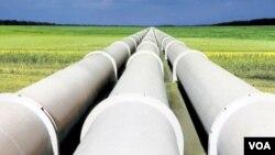 Pipa minyak Sudan (foto: dok). Kedua Sudan mengalami kebuntuan dalam sengketa soal minyak.