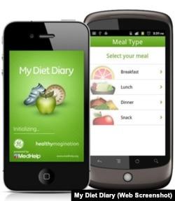 My Diet Diary App