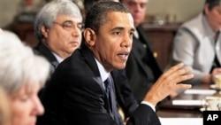 奥巴马总统周四在白宫发表谈话