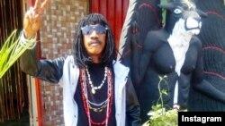 Charlebois Poaty, músico e espiritualista ligado ao candomblé e umbanda