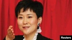 Li Xiaolin, putri satu-satunya Li Peng, mantan PM China yang berkuasa antara 1987-1998 (foto: dok).