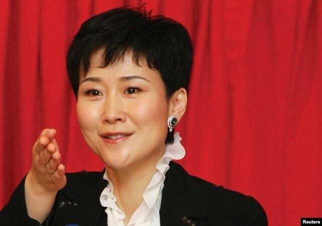 中国前总理李鹏的女儿李小琳
