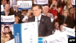 Nevada önseçimini kazanan eski vali Mitt Romney