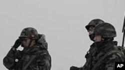 한국군 대비태세 강화