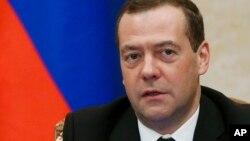 드미트리 메드베데프 러시아 총리.V