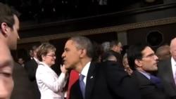 华盛顿为奥巴马国情咨文做好准备