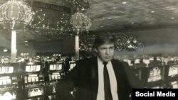 دونالد ترامپ در یکی از کازینوهایش