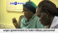 VOA60 Africa - UN envoy: South Sudan forces involved in sexual violence should be prosecuted