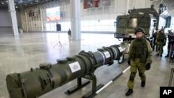 논란이 된 러시아 신형 미사일 9M729. (자료사진)