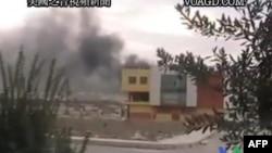 Amaterski snimak sukoba u Siriji, objavljen na internetu