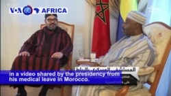 VOA60 Africa - Gabon: President Ali Bongo made his first appearance since falling ill nearly six weeks ago
