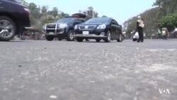 চট্টগ্রামে লকডাউনে চলছে যানবাহন