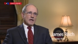 VOA Persian Exclusive Interview with U.S. Senator James Risch (R-ID)