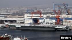 遼寧號航母(資料圖片)