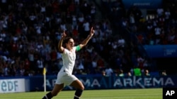 APTOPIX France US Chile WWCup Soccer