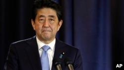 日本首相安倍晋三(资料照)