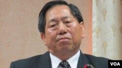 台湾国家安全局长蔡得胜(美国之音张永泰拍摄)