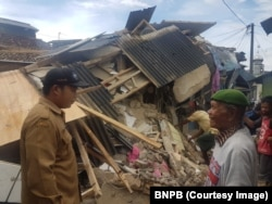 Indonesia Earthquake West Java