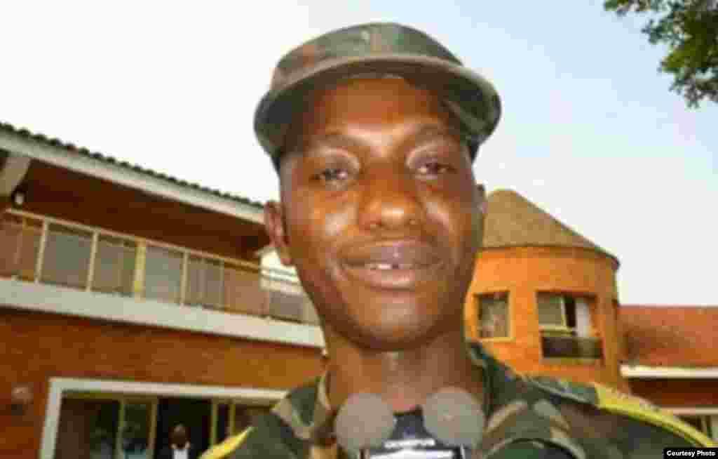 Kanali Mamadou Ndala komanda wa kikosi maalum cha jeshi la Congo linalowasaka waasi mashariki mwa nchi