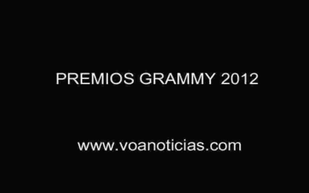 Premios Grammy 2012