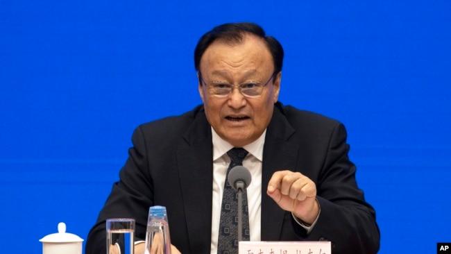 """中国谴责美国""""维吾尔人权政策法案"""",称维吾尔人学员已全部结业"""