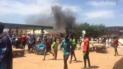 Demonstrators at an End SARS Protest in Jos, Nigeria