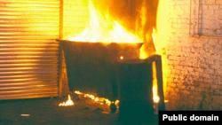 Dumpster Fire หมายถึง หายนะ ความพินาศ