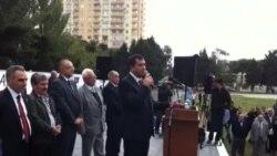 Prezidentliyə namizəd Qüdrət Həsənquliyev görüş-mitinqi keçirir