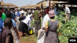 Zimbabwe's struggling economy has forced many citizens to sell various wares in the streets.