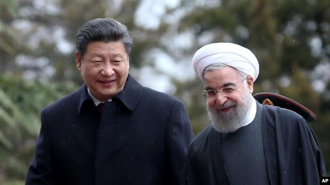 中国称与伊朗发展战略伙伴关系决心不变