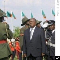 Zambia's President Rupiah Banda