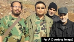 جنگ سوریه - جنگجوی افغان