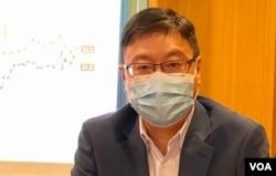"""香港浸会大学政治及国际关系学系副教授陈家洛表示,今年香港被剔除于""""全球经济自由度指数"""", 反映国际社会认为一国两制已经完结。 (美国之音/汤惠芸)"""