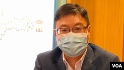 """香港浸會大學政治及國際關係學系副教授陳家洛表示,今年香港被剔除於""""全球經濟自由度指數"""", 反映國際社會認為一國兩制已經完結。(美國之音 湯惠芸)"""