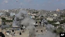 Por lo menos 175 personas han muerto desde que Israel comenzó la ofensiva militar aérea.