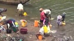 Quatre mois de pénurie d'eau potable à Bukavu en RDC (vidéo)